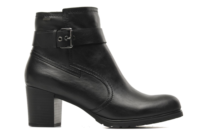 Boots en enkellaarsjes Geox D LISE ABX B D44D1B Zwart achterkant
