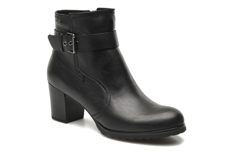 Boots en enkellaarsjes Geox D LISE ABX B D44D1B Zwart detail