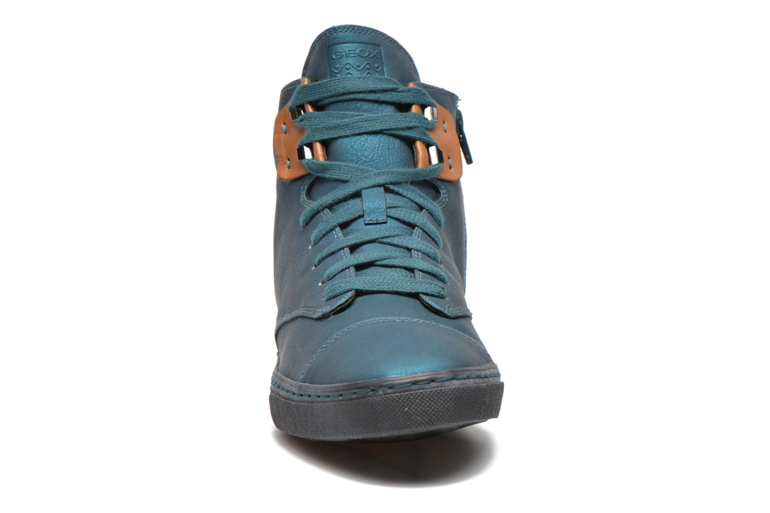Sneakers Geox D NEW CLUB G D4458G Blauw model