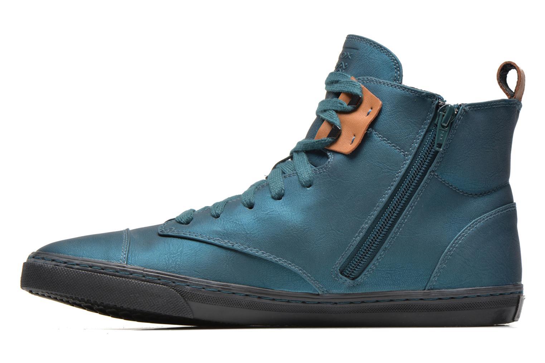 Sneakers Geox D NEW CLUB G D4458G Blauw voorkant