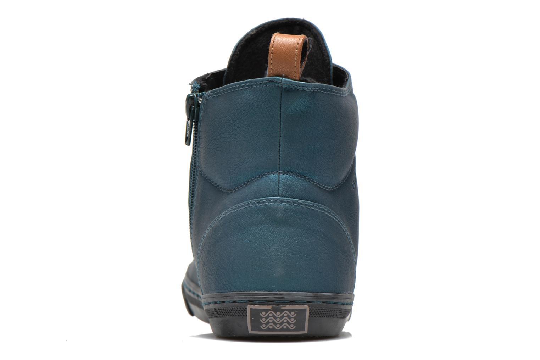 Sneakers Geox D NEW CLUB G D4458G Blauw rechts
