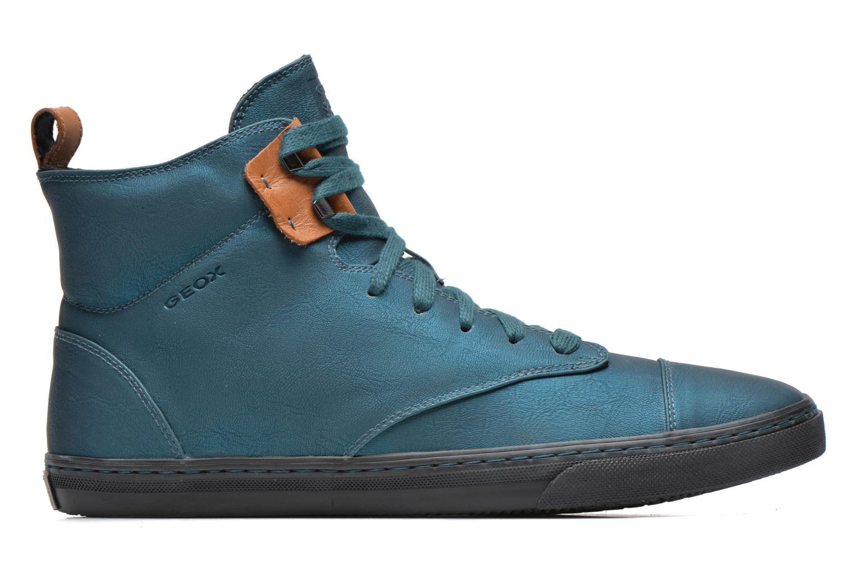 Sneakers Geox D NEW CLUB G D4458G Blauw achterkant