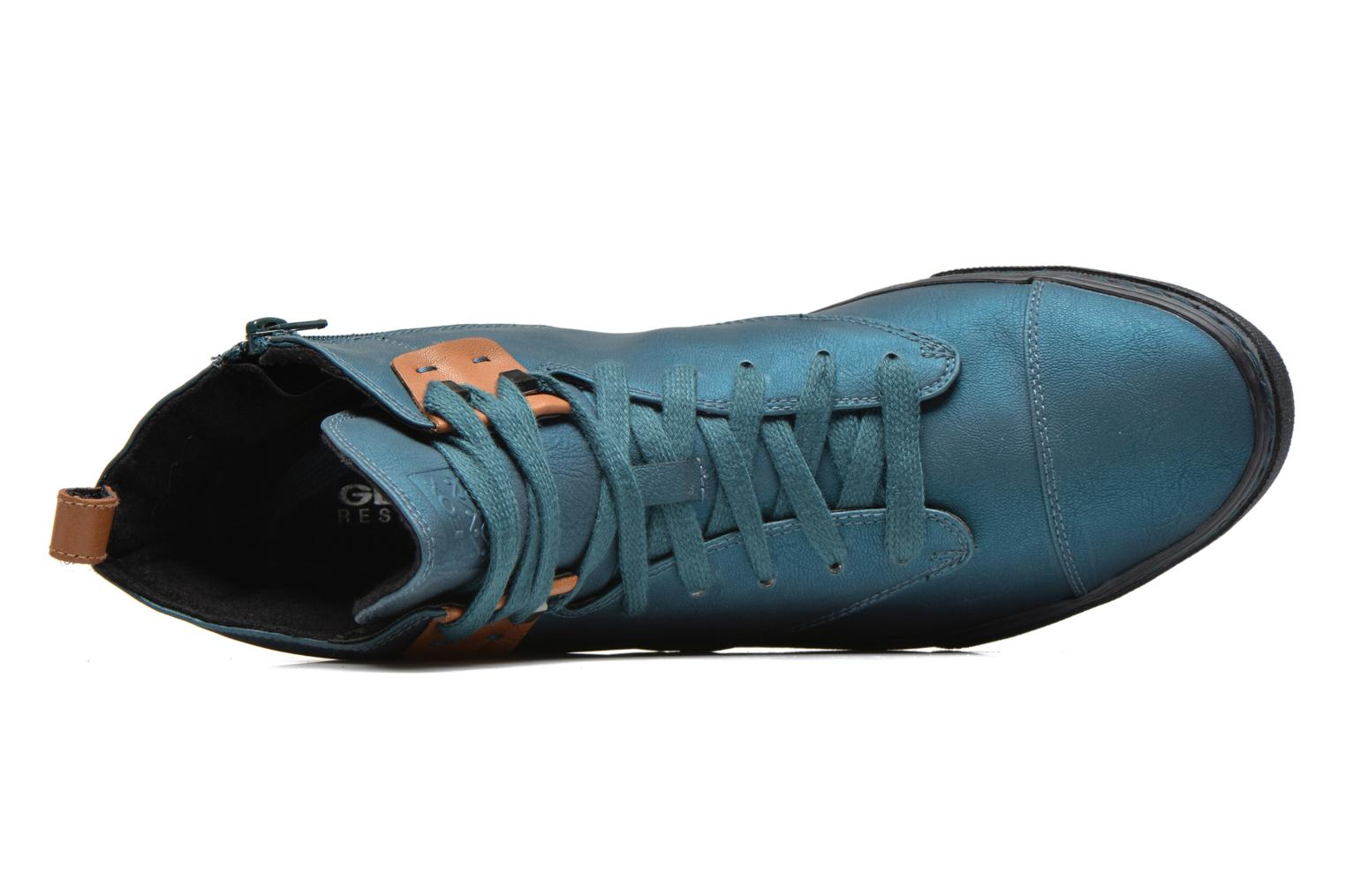 Sneakers Geox D NEW CLUB G D4458G Blauw links