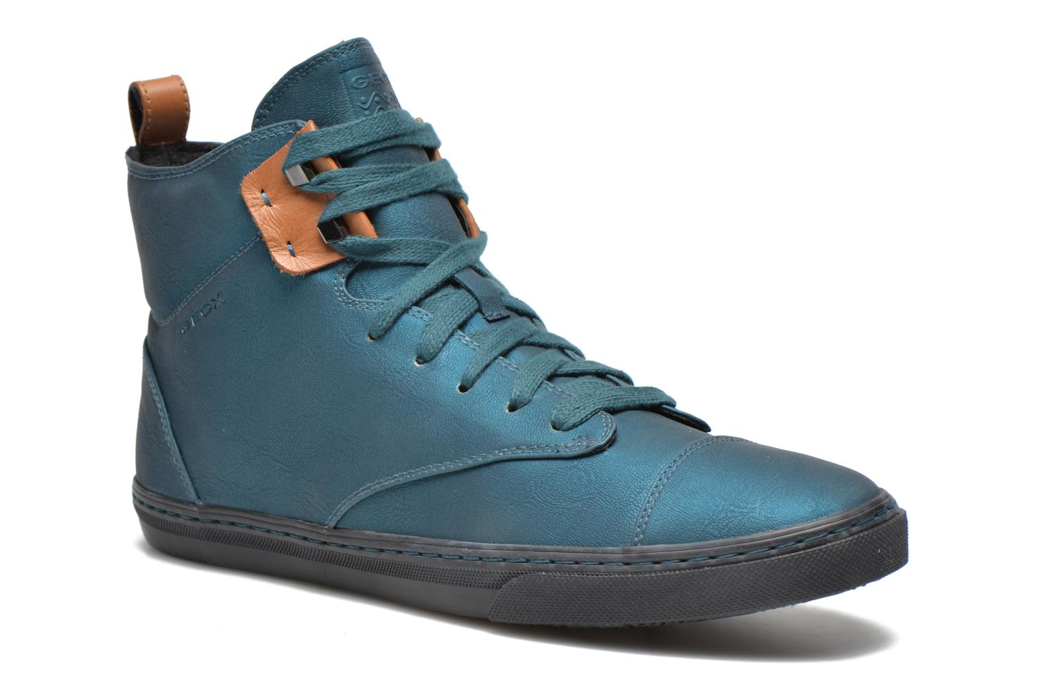 Sneakers Geox D NEW CLUB G D4458G Blauw detail