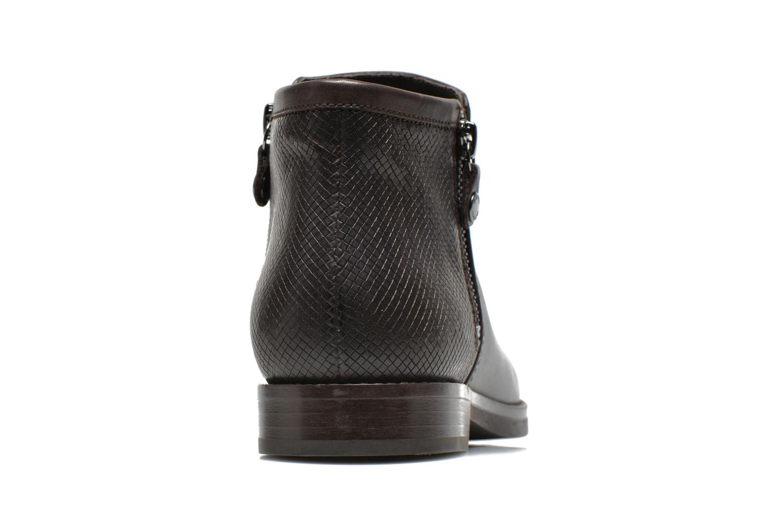 Ankle boots Geox D PROMETHEA F D44R3F Brown view from the right
