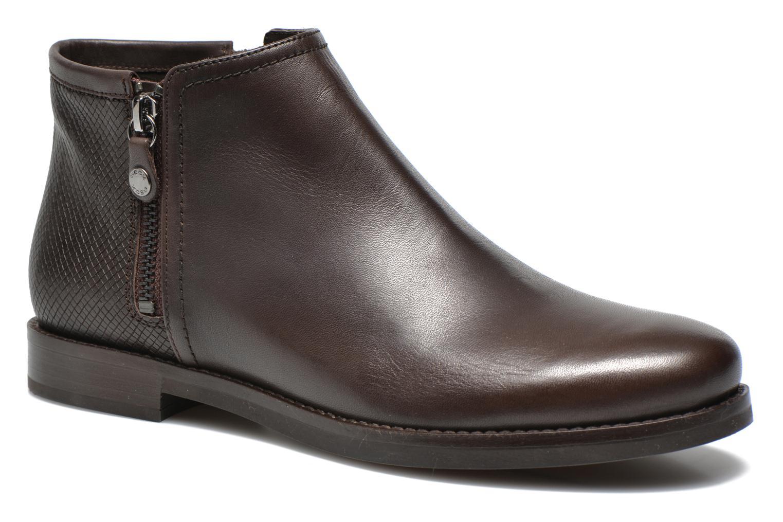 Geox D PROMETHEA F D44R3F (Marron) - Bottines et boots chez Sarenza (236190)