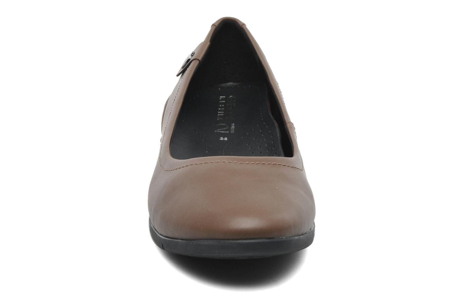 Ballet pumps Geox D ZANE A D44N3A Brown model view