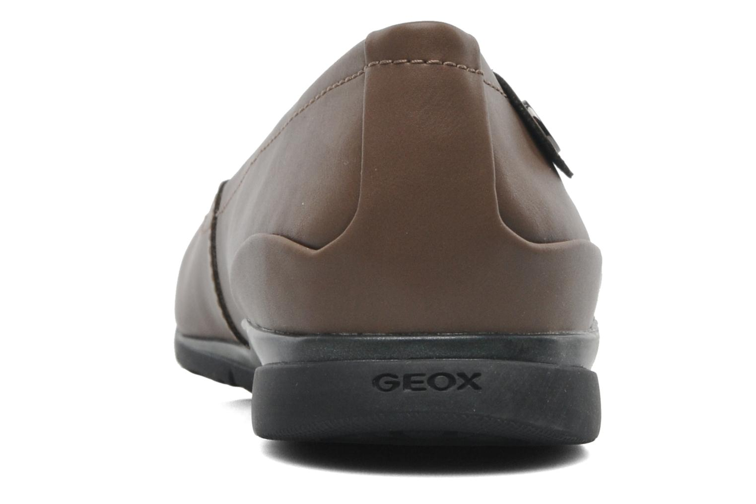 Ballet pumps Geox D ZANE A D44N3A Brown view from the right