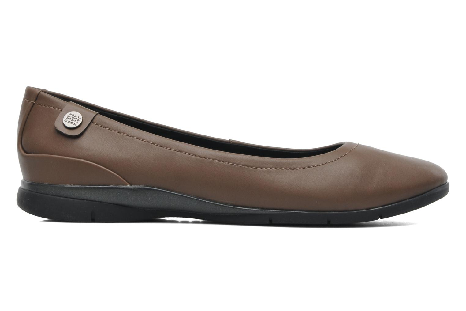 Ballet pumps Geox D ZANE A D44N3A Brown back view