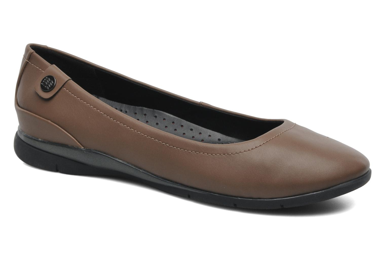 Ballet pumps Geox D ZANE A D44N3A Brown detailed view/ Pair view