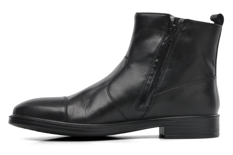 Bottines et boots Geox U LORIS A ABX D U44C6D Noir vue face