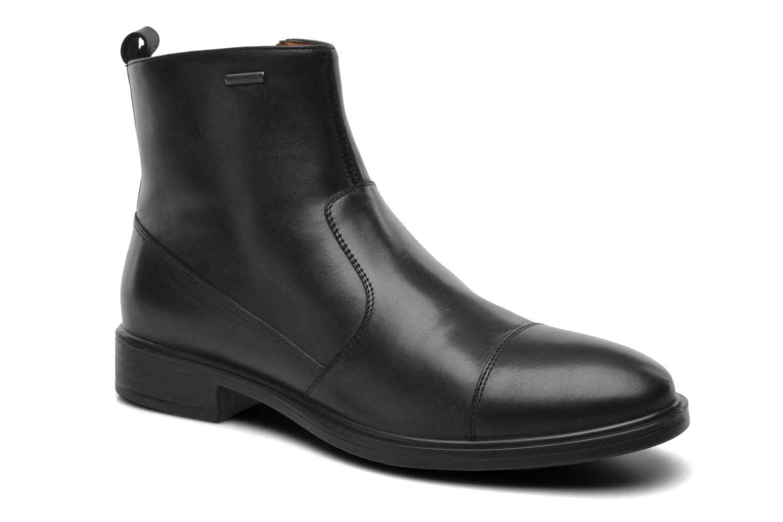 Ankle boots Geox U LORIS A ABX D U44C6D Black detailed view/ Pair view