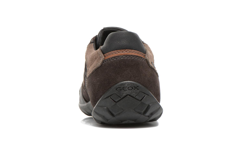Sneakers Geox U PAVEL A U44P7A Zwart rechts