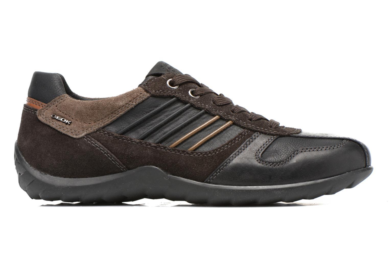Sneakers Geox U PAVEL A U44P7A Zwart achterkant