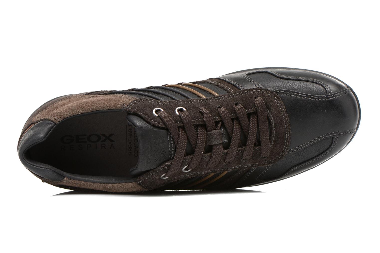 Sneakers Geox U PAVEL A U44P7A Zwart links