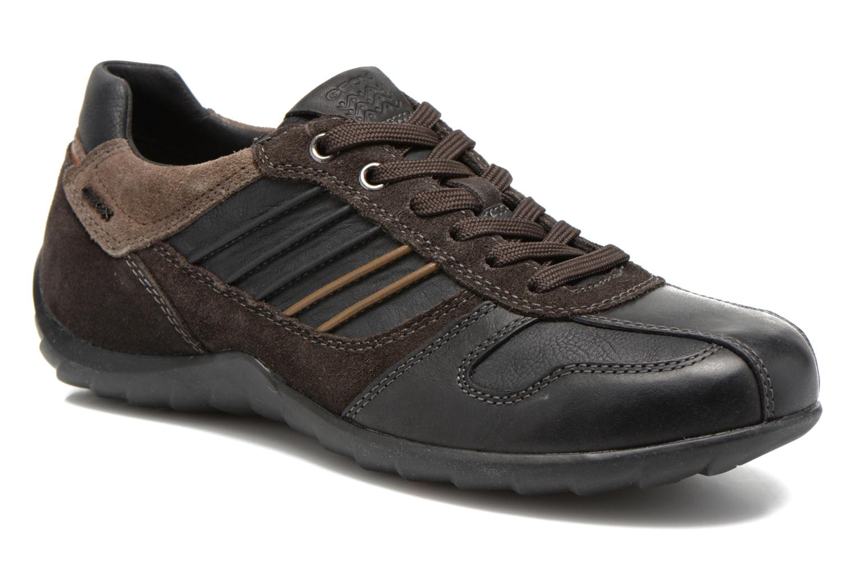 Sneakers Geox U PAVEL A U44P7A Zwart detail