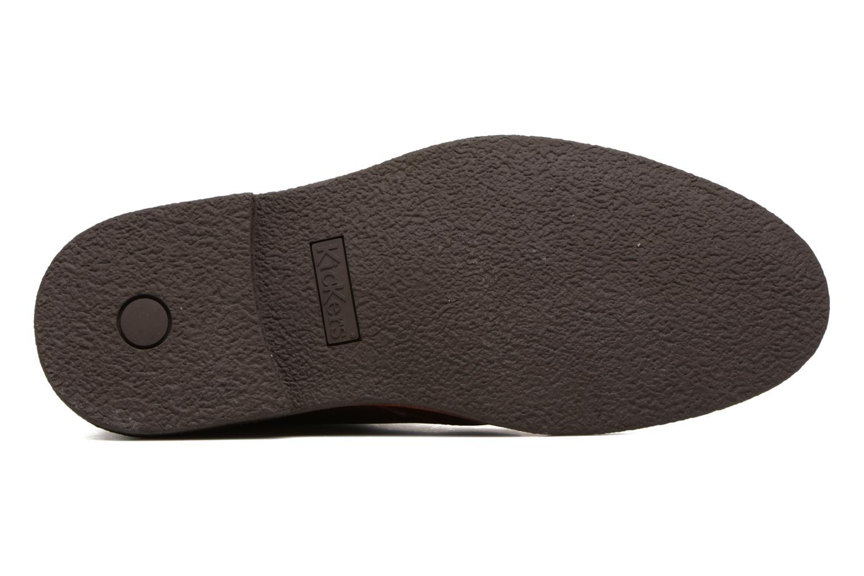 Chaussures à lacets Kickers Mistic Marron vue haut