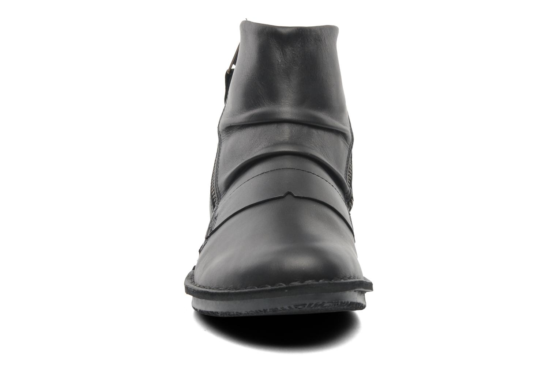 Bottines et boots Kickers Waouh Noir vue portées chaussures