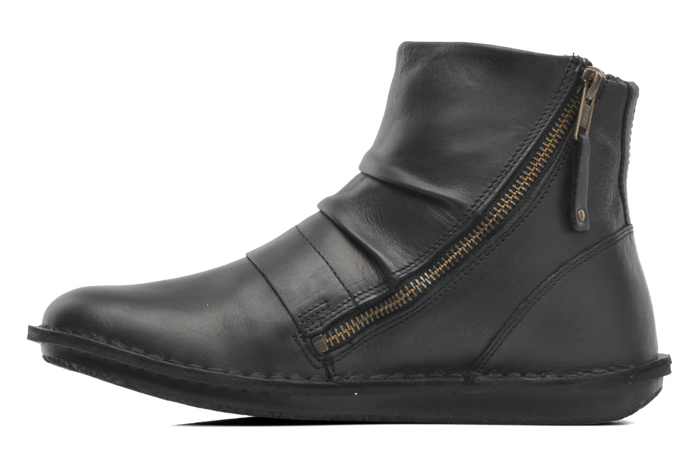 Bottines et boots Kickers Waouh Noir vue face