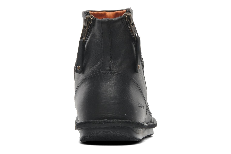 Bottines et boots Kickers Waouh Noir vue droite