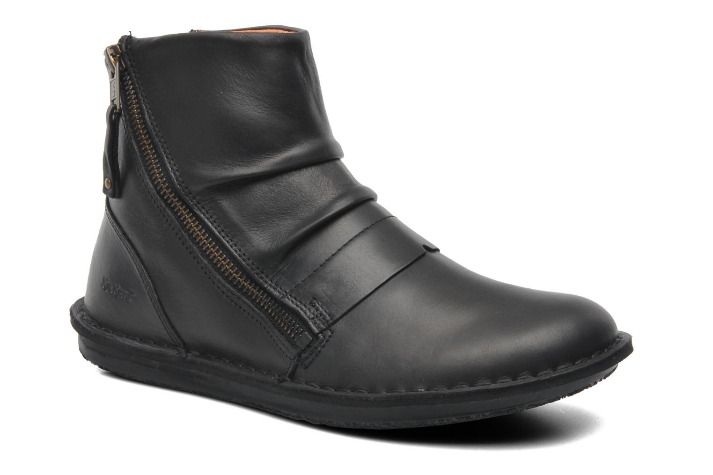 Bottines et boots Kickers Waouh Noir vue détail/paire