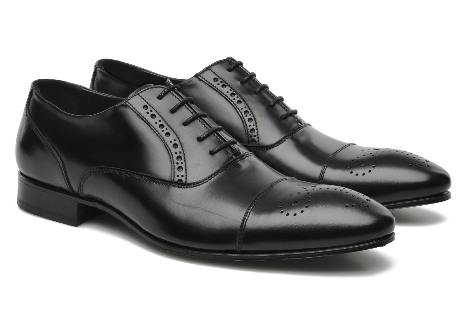 Lace-up shoes Kenzo Hobart Black 3/4 view