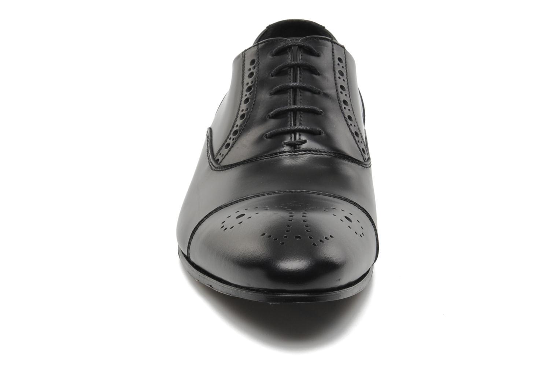 Schnürschuhe Kenzo Hobart schwarz schuhe getragen
