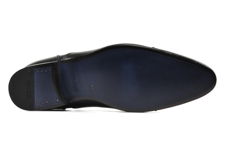 Schnürschuhe Kenzo Hobart schwarz ansicht von oben