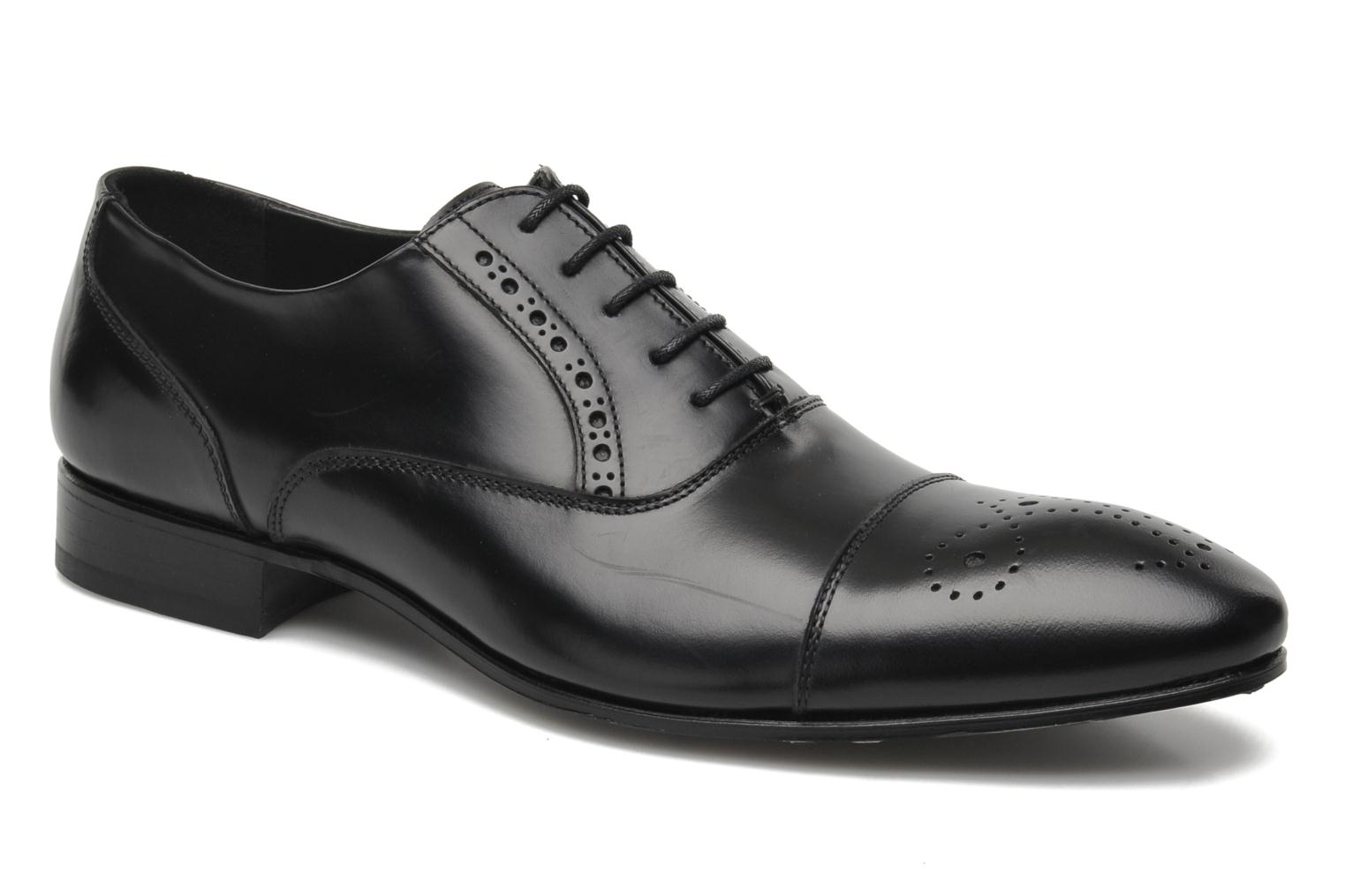 Lace-up shoes Kenzo Hobart Black detailed view/ Pair view