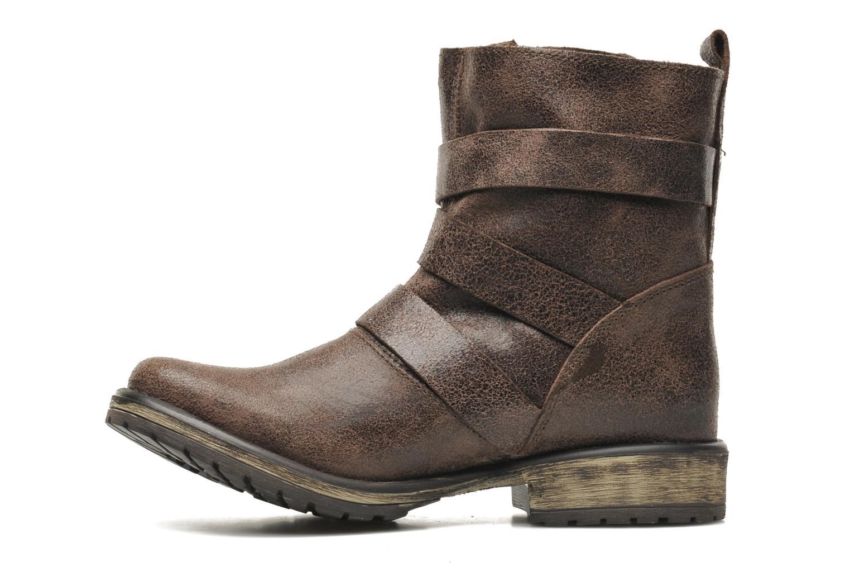 Boots en enkellaarsjes Steve Madden COLONY Bruin voorkant