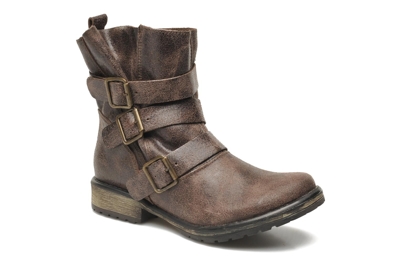 Boots en enkellaarsjes Steve Madden COLONY Bruin detail