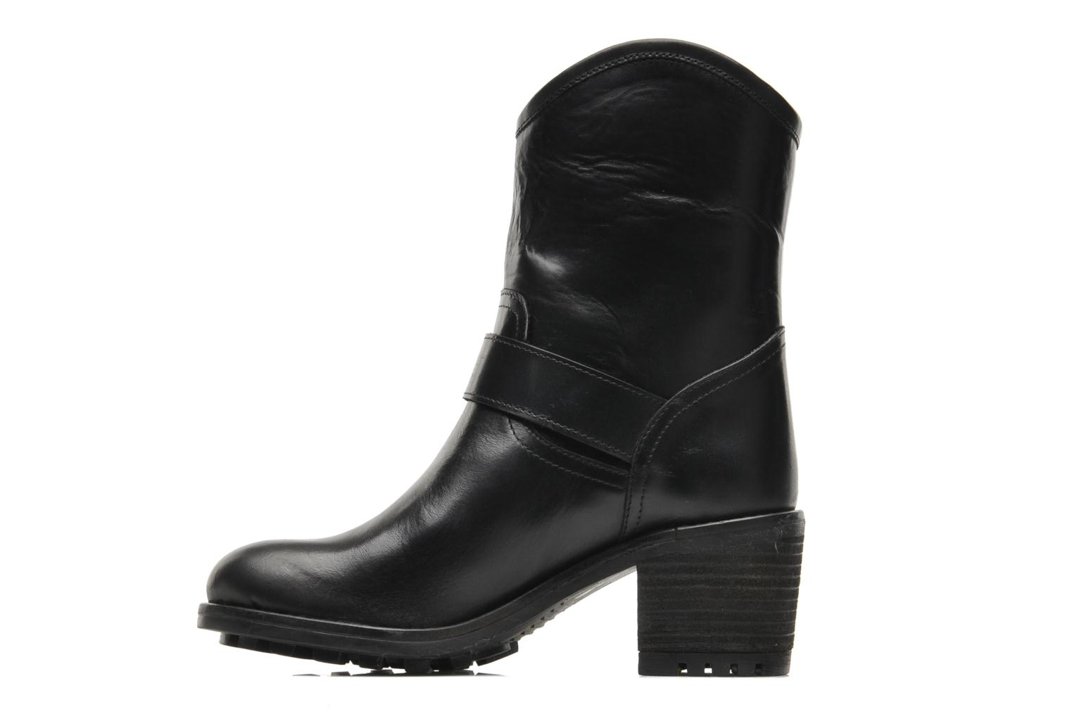 Ankle boots Pastelle Andy Black front view