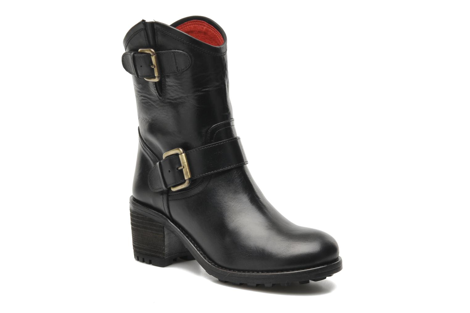 Ankle boots Pastelle Andy Black detailed view/ Pair view