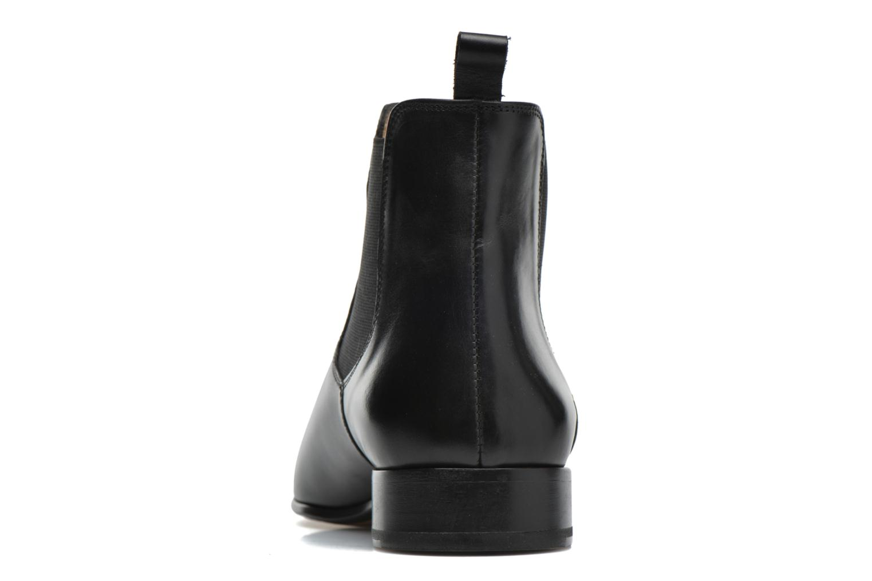 Bottines et boots Brett & Sons Bret Noir vue droite
