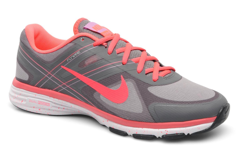 Wmns Nike Dual Fusion Tr 2 Lght Ash/Flt Pwtr Htr-Hypr Pnc