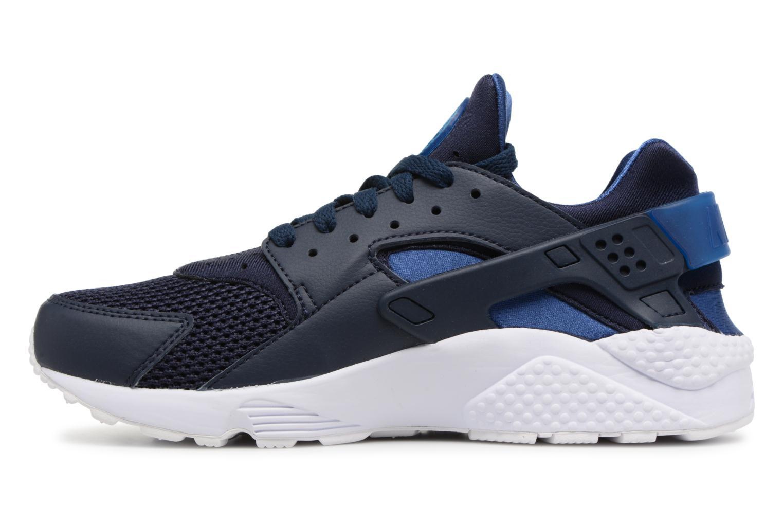 Baskets Nike Nike Air Huarache Bleu vue face