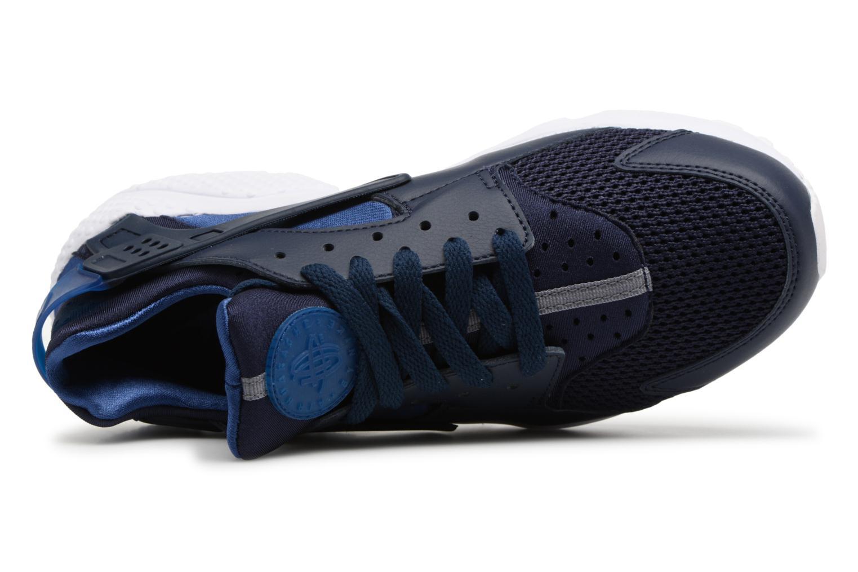 Baskets Nike Nike Air Huarache Bleu vue gauche