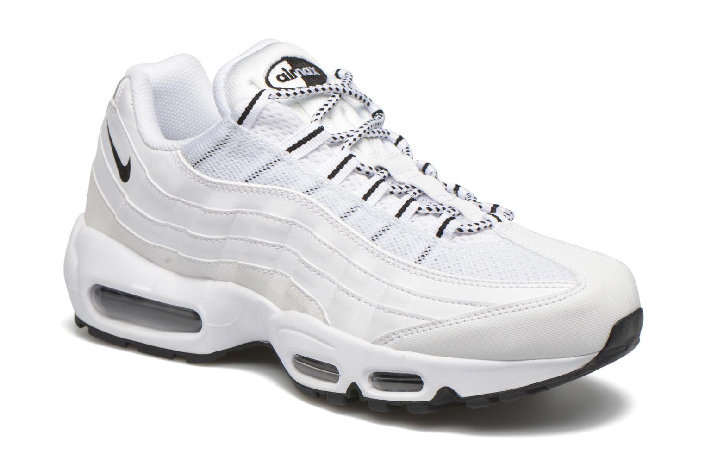 Baskets Nike Air Max '95 Blanc vue détail/paire