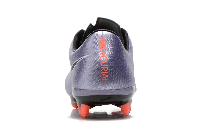 Chaussures de sport Nike Mercurial Veloce II Fg Violet vue droite