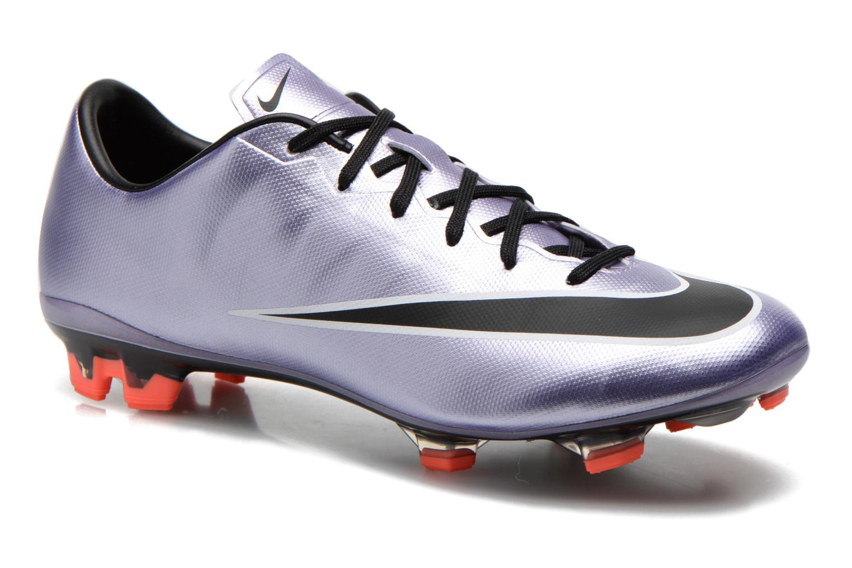 Chaussures de sport Nike Mercurial Veloce II Fg Violet vue détail/paire