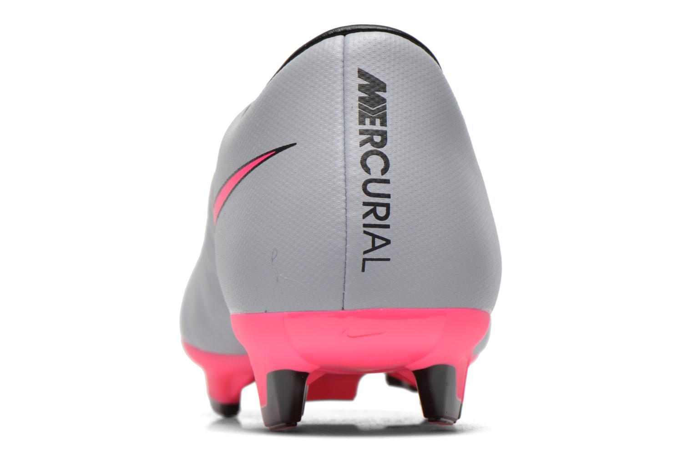 Zapatillas de deporte Nike Mercurial Victory V Fg Gris vista lateral derecha