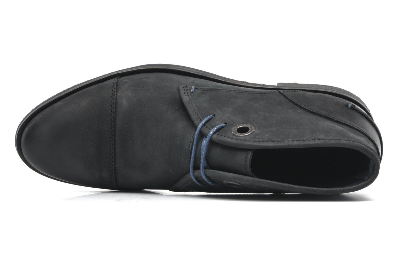 Snörade skor Kickers Darko Svart bild från vänster sidan