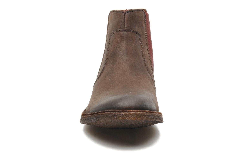 Bottines et boots Kickers Creboots Marron vue portées chaussures