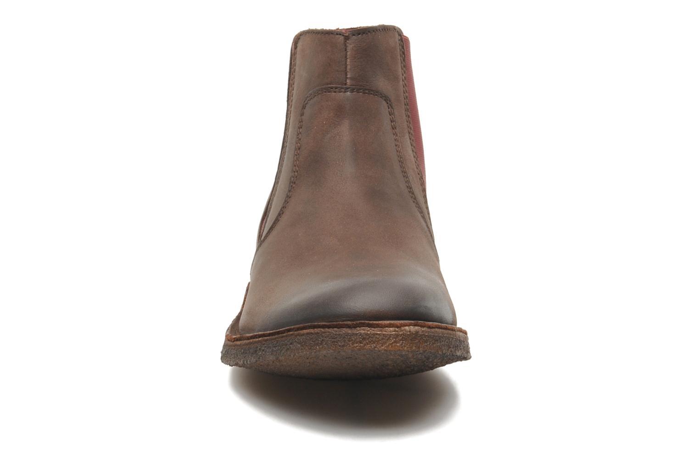 Bottines et boots Kickers Creboots Marron vue face