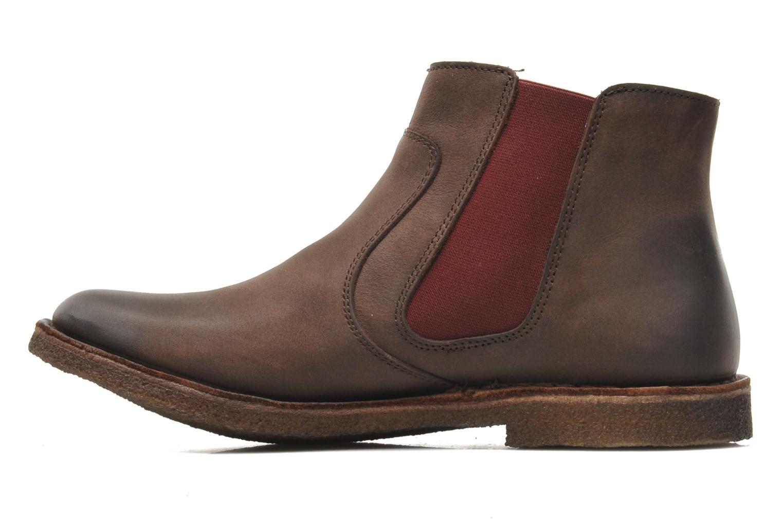 Bottines et boots Kickers Creboots Marron vue droite