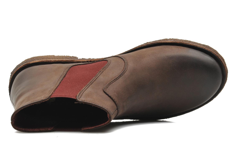 Bottines et boots Kickers Creboots Marron vue haut