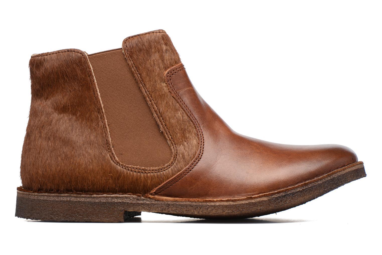 Bottines et boots Kickers Creboots Marron vue derrière