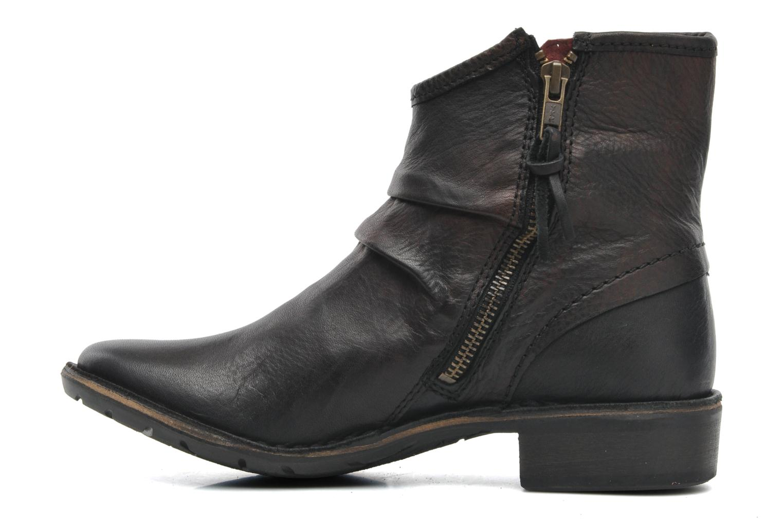 Bottines et boots Kickers Groove Soft Noir vue face