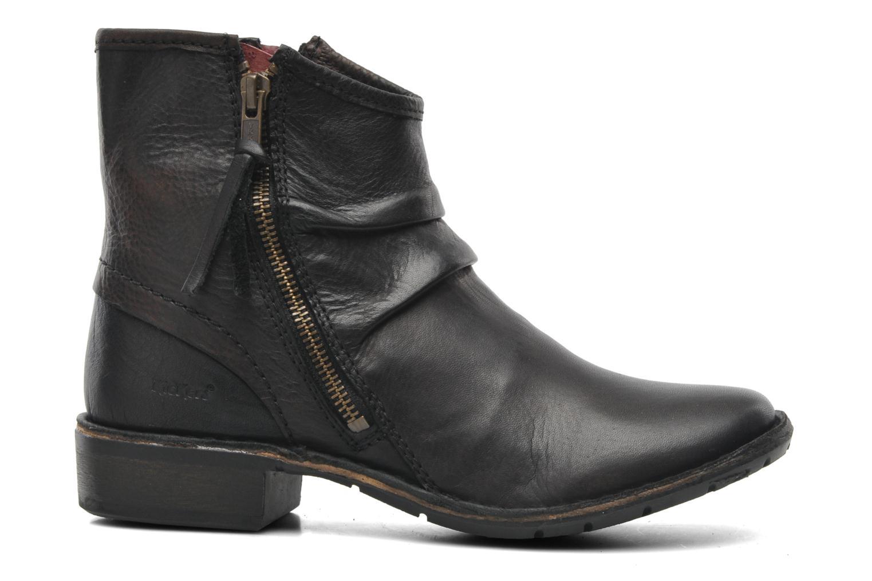 Boots en enkellaarsjes Kickers Groove Soft Zwart achterkant