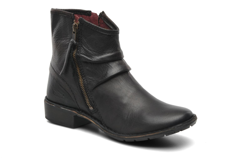 Boots en enkellaarsjes Kickers Groove Soft Zwart detail